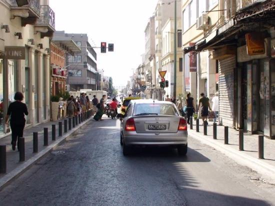 Athens Walking Tours: Street in Plaka , Athens