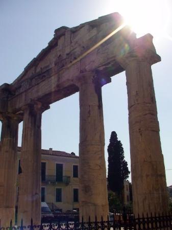 อะโครโปลิส: A view of Agios loannis Theologos ( Acropolis)