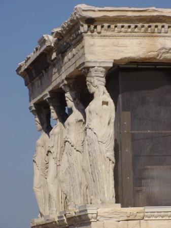 อะโครโปลิส: Caryatids Porch