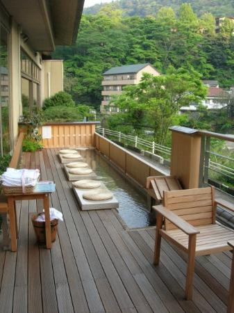 Hotel Kajikaso: foot spa