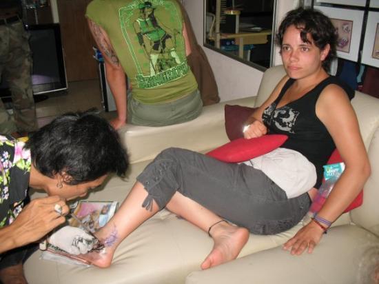 เกาะสมุย, ไทย: un tatouage fabuleux