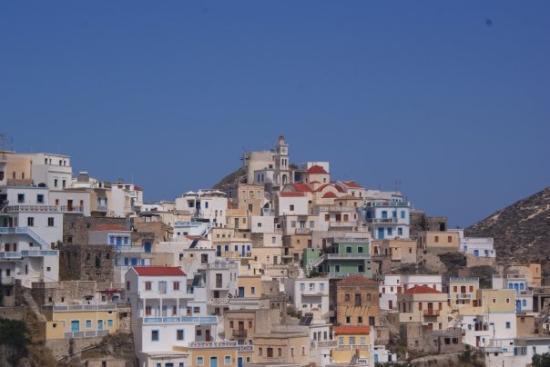 Kárpathos, กรีซ: Olympos. Detail.