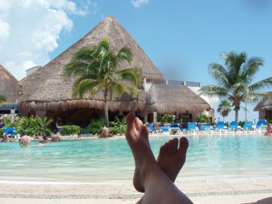พลายาเดลคาร์เมน, เม็กซิโก: Mes pieds magnifiques qui se reposent