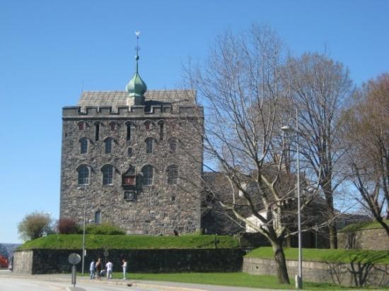 แบร์เกน, นอร์เวย์: The Rosenkrantz Tower.