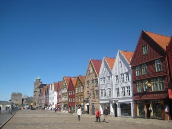 แบร์เกน, นอร์เวย์: Bryggen.