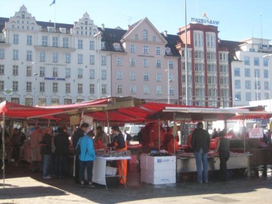 แบร์เกน, นอร์เวย์: The fish market.