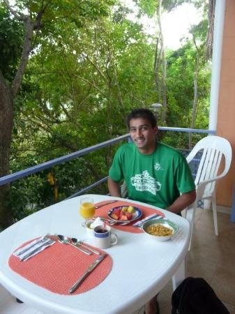 ปานามาซิตี, ปานามา: Breakfast our first day in Panama City.