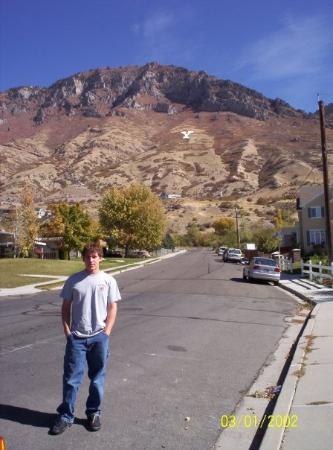 โพรโว, ยูทาห์: Provo, UT, United States walked up to the Y my cousin Josh is in the picture.