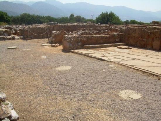 Malia Minoan Palace ภาพถ่าย