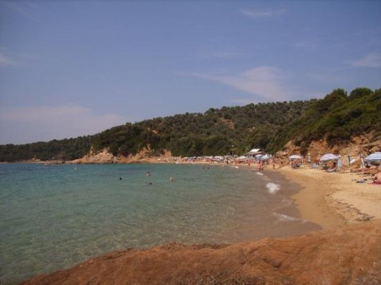 Little Banana Beach, Skiathos, Greece