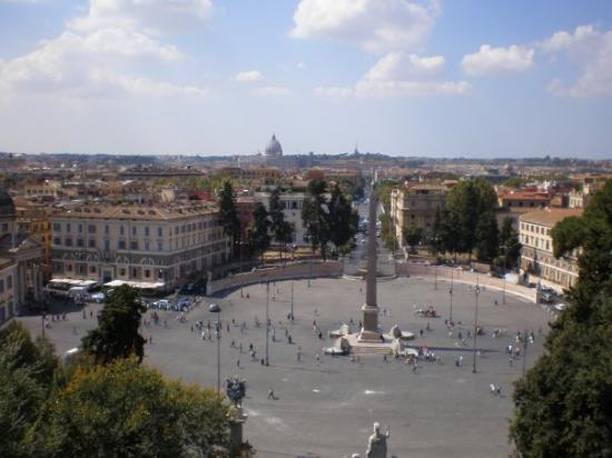 Piazza del Popolo ภาพถ่าย