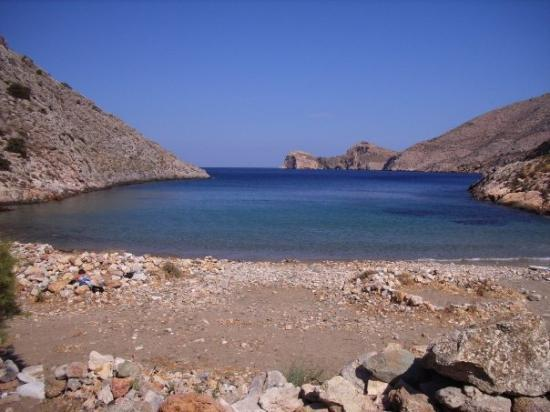 Syros, กรีซ: Armeos Beach, Galissas Siros, Greece