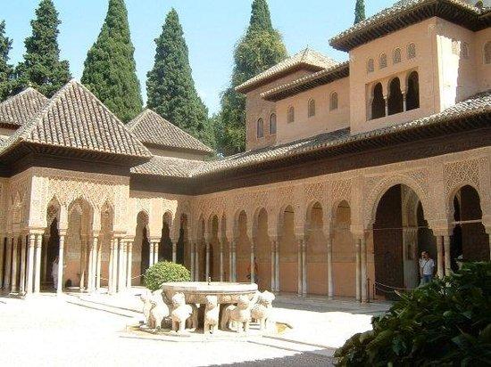 กรานาดา, สเปน: Alhambra - Patio de los leones