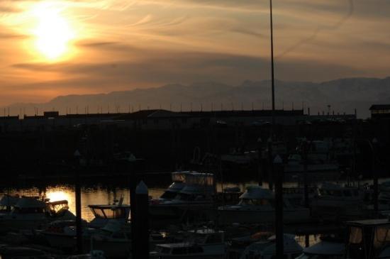 โฮเมอร์, อลาสกา: Sun rise over Homer Alaska.