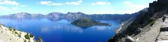 Crater Lake National Park, ออริกอน: Crater Lake, OR, United States The west side, over look.