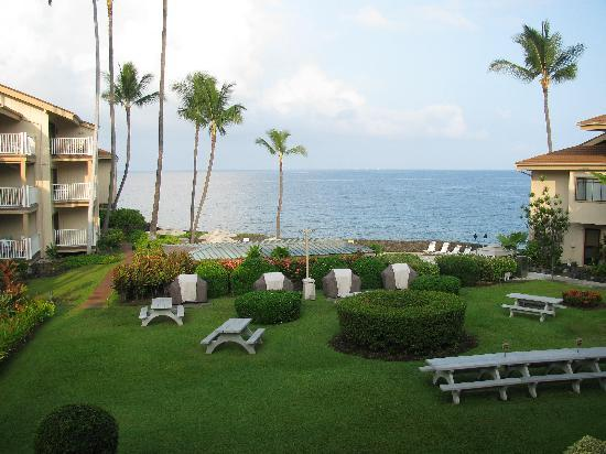 The Sea Village: This is our lanai view from Unit 2205