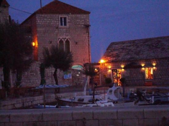 Bol Harbour at night again