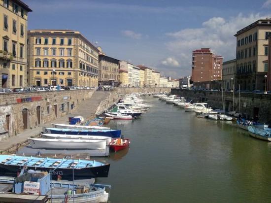 ลีวอร์โน, อิตาลี: Canals in Livorno