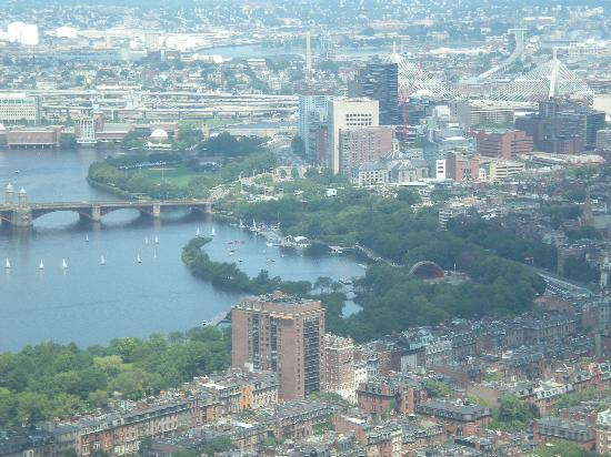 Prudential Center: Boston Harbor from Prudential Skywalk