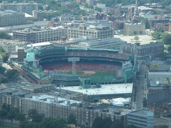 Prudential Center: Wrigley Field from Prudential Skywalk
