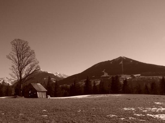 Schladming, ออสเตรีย: My back yard