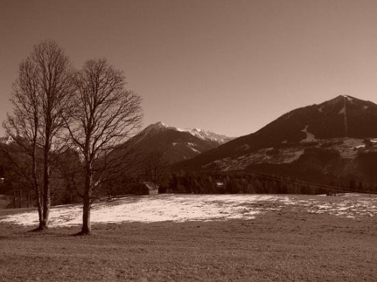 Schladming, ออสเตรีย: A walk 2 minutes from my house