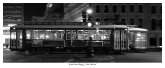 นิวออร์ลีนส์, หลุยเซียน่า: New Orleans, Canal Street Trolley Dan Knupp © 2009