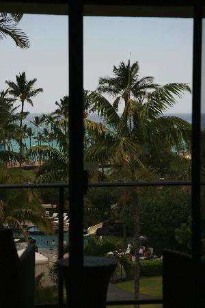 Waikoloa Beach Marriott Resort & Spa: view from ocean view room