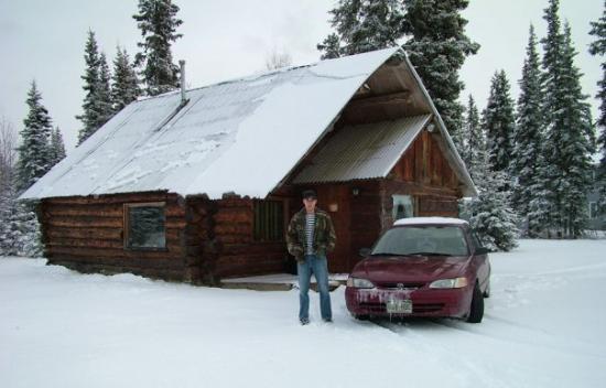 Soldotna, อลาสกา: cabin,AK