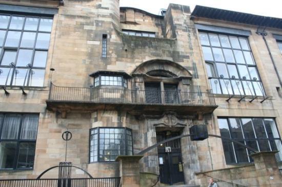 กลาสโกว์, UK: Glasgow - Macintosh School of art
