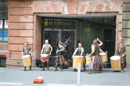 กลาสโกว์, UK: Glasgow - Highlanders