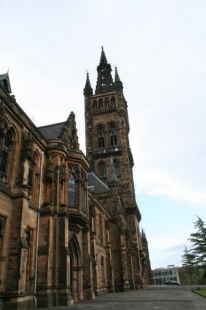กลาสโกว์, UK: Glasgow - university