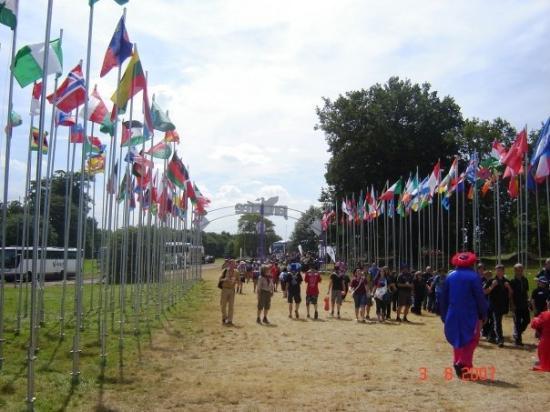 Poole, UK: National Jamboree