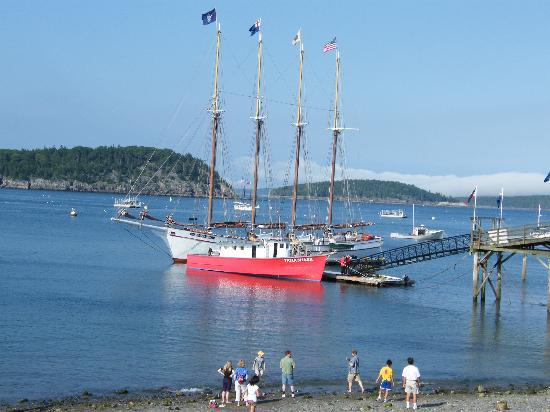 Downeast Windjammer Cruises Lines: little red boat we fished on
