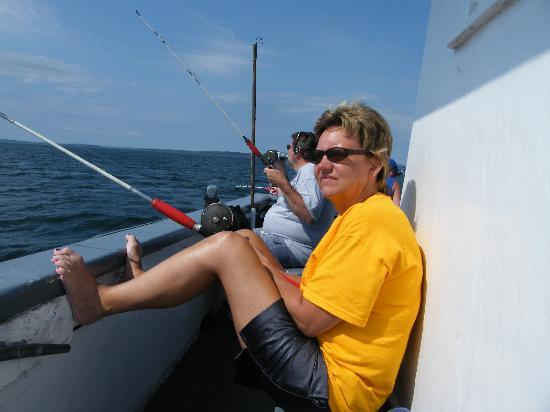 Downeast Windjammer Cruises Lines: I think I actually fell asleep here