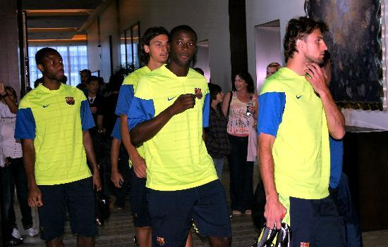 อินเตอร์คอนติเนนตัล ซานฟรานซิสโก: FC Barcelona Soccer Club Players
