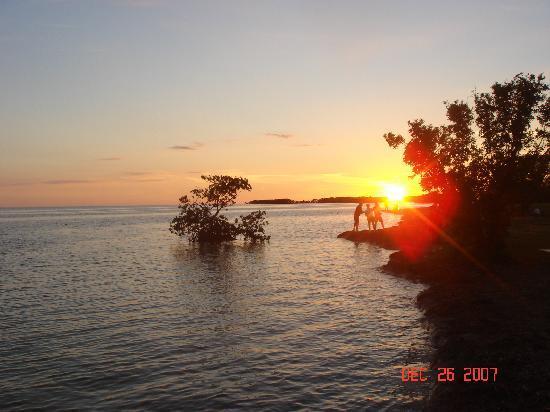 Everglades National Park, ฟลอริด้า: Sunset near Flamingo