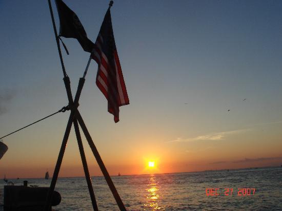 จตุรัสมาลลอรี: Sunset in Key West