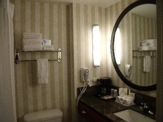 Holiday Inn Express Hotel & Suites San Francisco Fisherman's Wharf: Bathroom at HIE Fisherman's wharf