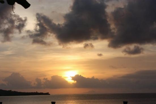 จิมบารัน, อินโดนีเซีย: Le coucher de soleil