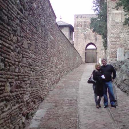 Alcazaba, Málaga, España