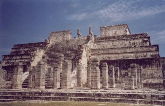 Chichen Itza, เม็กซิโก: templo de las mil colunmnas, chichén itzá, méxico