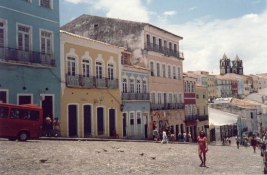 ซัลวาดอร์: pelourinho, salvador, bahía, brasil