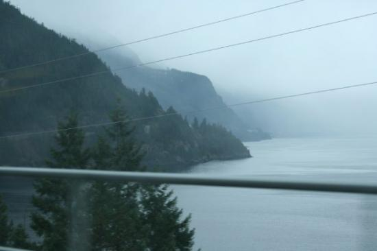 แวนคูเวอร์, แคนาดา: Typical spring Vancouver weather along the sea-to-sky highway.