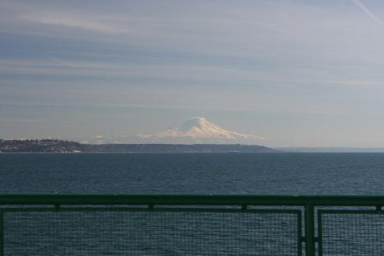 ซีแอตเทิล, วอชิงตัน: Mt. Rainier!