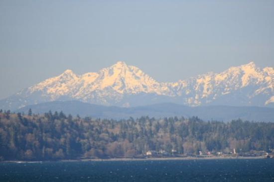 ซีแอตเทิล, วอชิงตัน: Olympic mountain range.