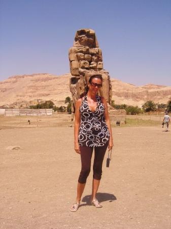 ลักซอร์, อียิปต์: BEELDEN VAN MEMNON 2009