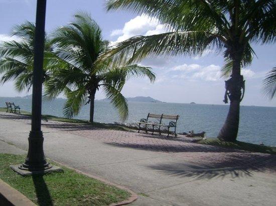 Isla Cavada : Via La isla