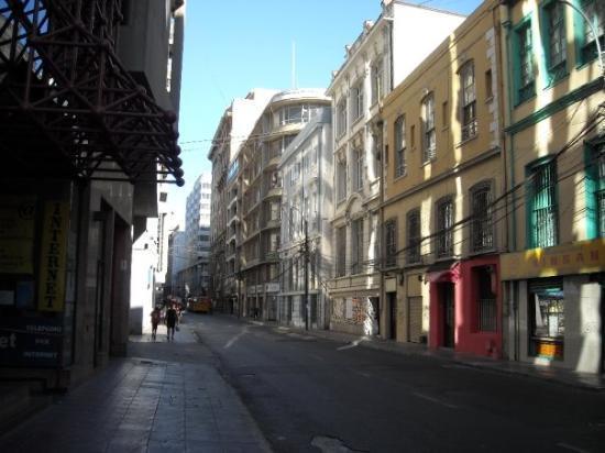 บัลปาราอีโซ, ชิลี: calle de valpo