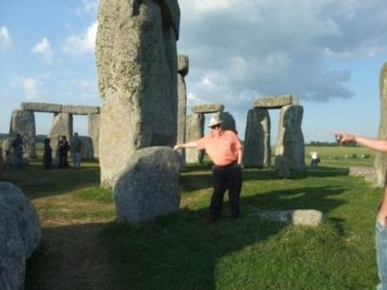 Salisbury & Stonehenge Guided Tours: Tom at Stonehenge